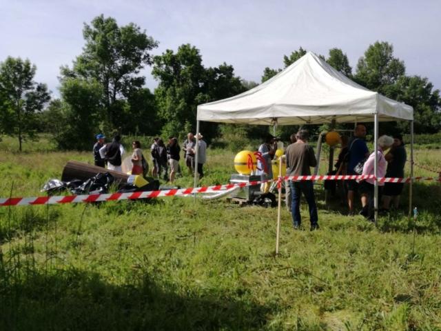 Une centaine de personnes sont venues découvrir le chantier de fouilles le 26 mai 2018